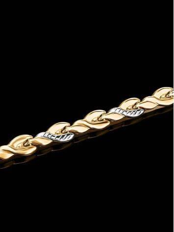 Classic Golden Link Bracelet, image , picture 2