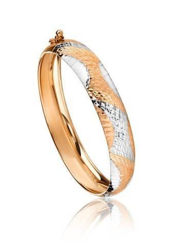 Two Toned Golden Bracelet, image