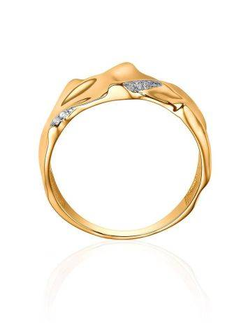 Fabulous Gold Plated Band Ring, Ring Size: 6.5 / 17, image , picture 3