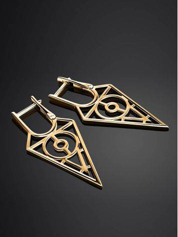 Fabulous Gold Plated Earrings, image , picture 2