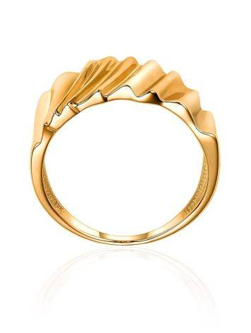 Extraordinary Gold Plated Band Ring, Ring Size: 6.5 / 17, image , picture 3