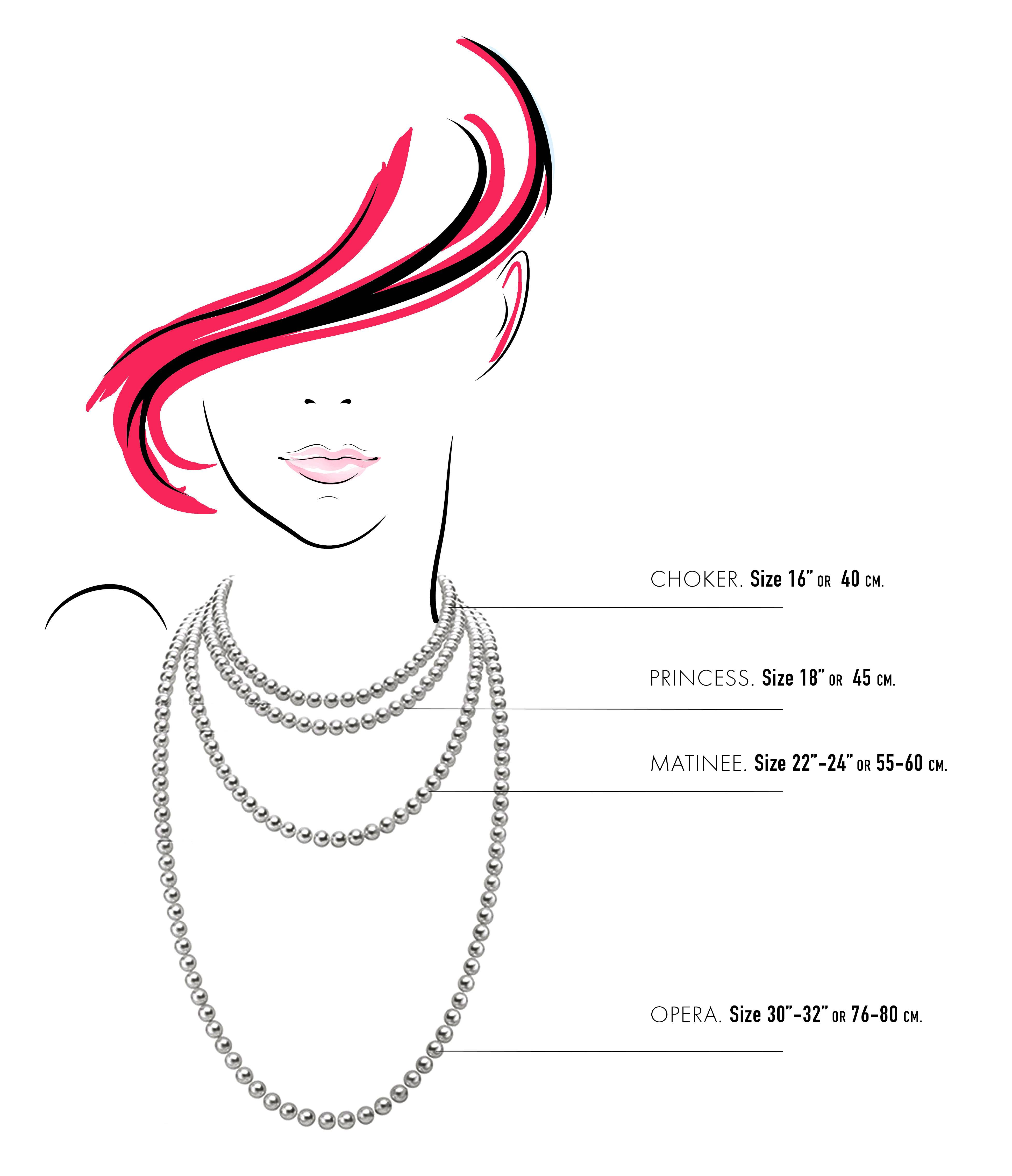 Necklaces Sizer Guide
